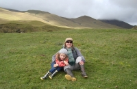 Family Hiking in Cotopaxi National Park